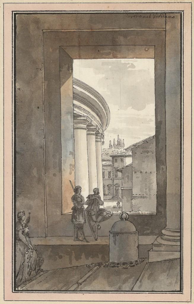Esterno del colonnato di San Pietro
