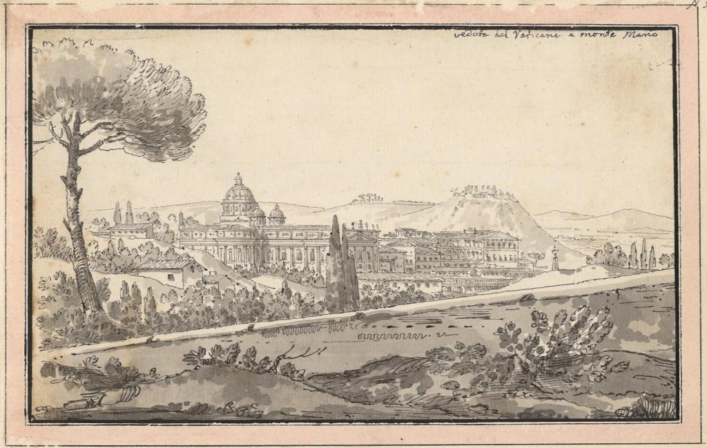 Il Vaticano e Monte Mario