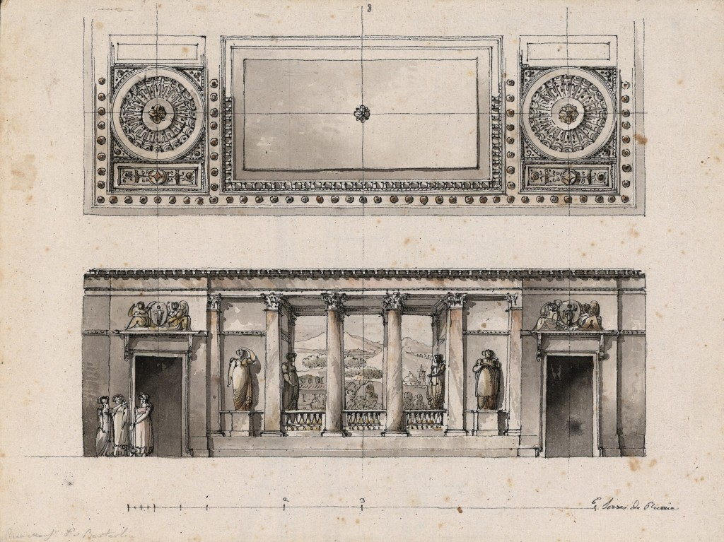 Decorazione per la Galleria di palazzo Buturlin