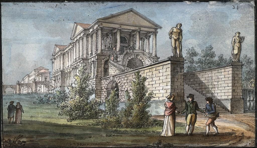 La Galleria Ionica a Tsarkoe Selo