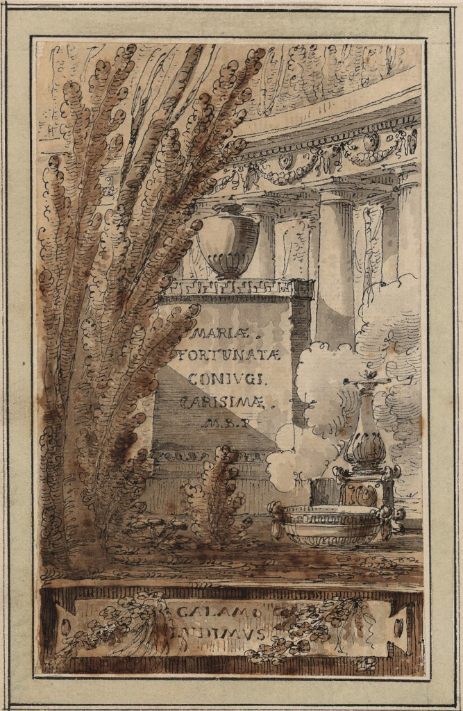 Fantasia architettonica commemorativa