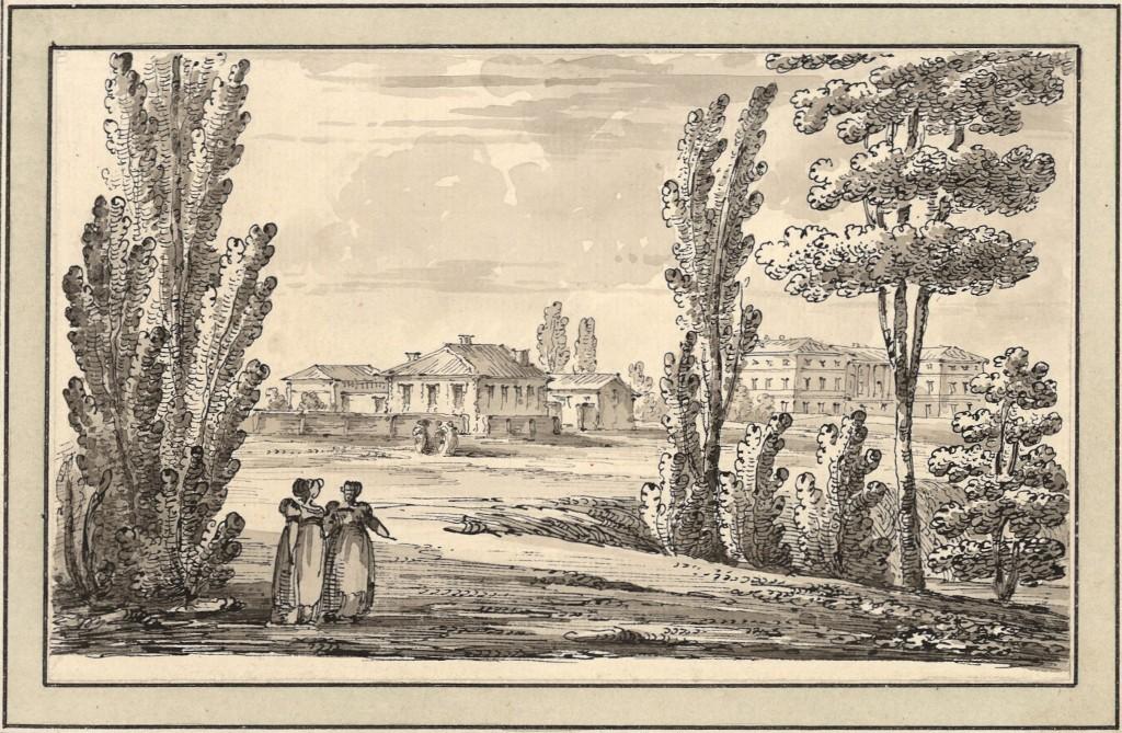 La casa di Quarenghi e il Palazzo Inglese a Peterhof